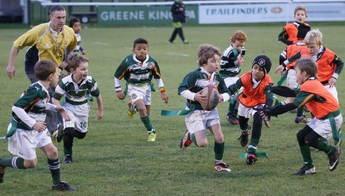 Minis Rugby Section at Ealing RFC