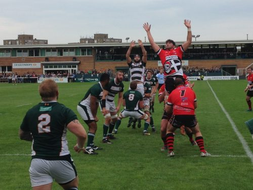 Lineout v Cornish Pirates