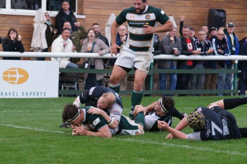 Hocking try v Cross Keys