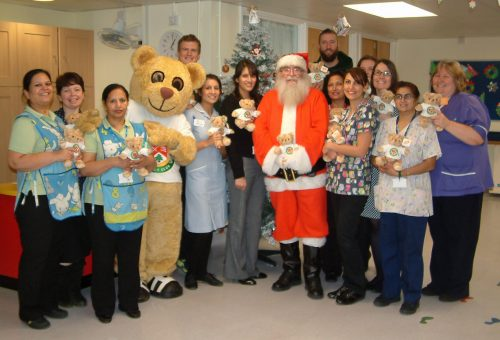 Curry and Kinloch at Ealing Hospital (2) - 2013-12-05