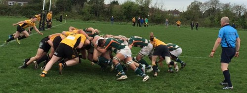 Amateurs 1sts v Esher April 2014