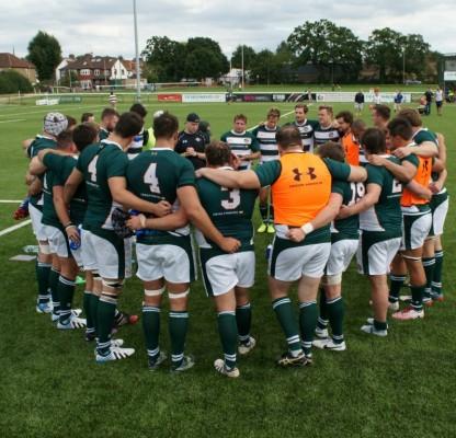 Team huddle - post Newport 2014-08-16