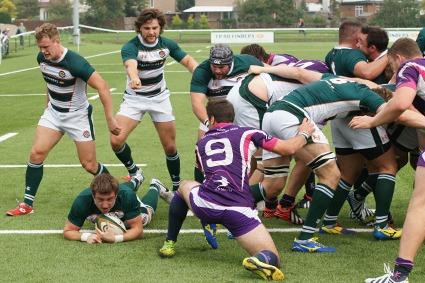 Arthur Ellis try v L'brough 2014-09-08