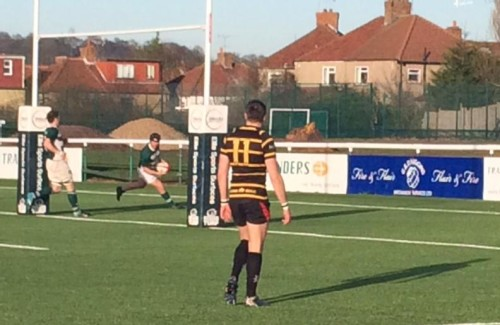 Men's 1sts v London Cornish Ryan Brooks try